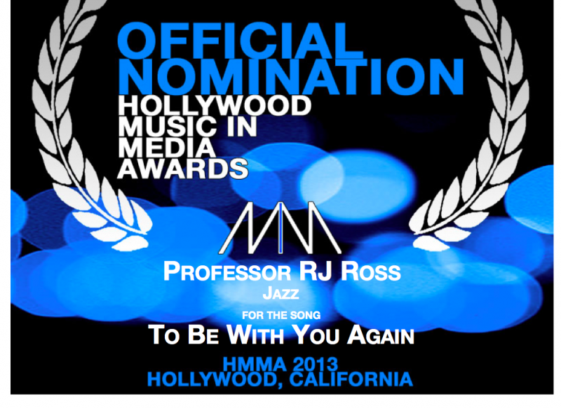 "Professor RJ Ross' ""To Be With You Again"" Nominated Best of 2013"