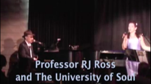ProfessorRJ Ross and The University of Soul at The Rrazz Room in San Francisco.